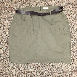 3 for $15 South Moon Under Olive Green Skirt